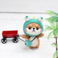 펫돌 양모펠트 DIY KIT 시바 니들펠트 패키지 모음