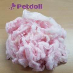 펫돌 웨이브컬 꼬불이 곱슬 양모 핑크(핑크)