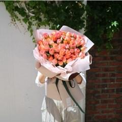 장미 100송이 50송이 꽃다발 대형 프로포즈 생일 자나장미