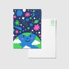 지구샵 제로 캐릭터 엽서 : UNIVERSE