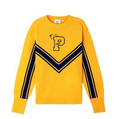 [SS18 Peanuts] P Knit(Yellow)_(786776)