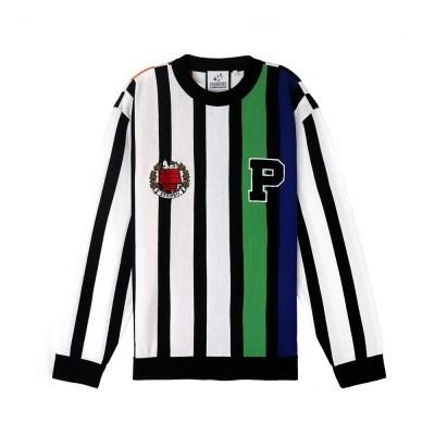 [SS18 Peanuts] P Multi-Stripe Knit(Black)_(786774)