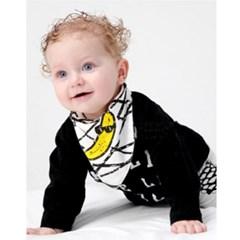 아기 스카프빕 침받이 유아 턱받이 1+1