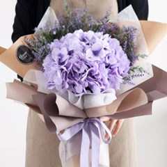티볼리수국꽃다발 60cmP 조화 꽃다발 선물 FMBBFT_(1841565)