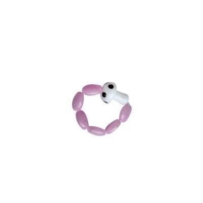 Pinky mushroom ring