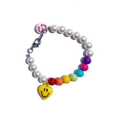 Rainbow smile bracelet