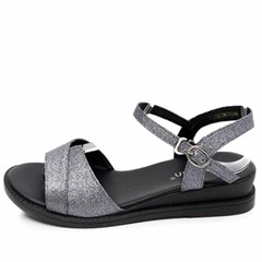 kami et muse Glittering strap middle wedge sandals_KM20s270