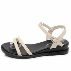 kami et muse 4cm middle wedge strap sandals_KM20s266