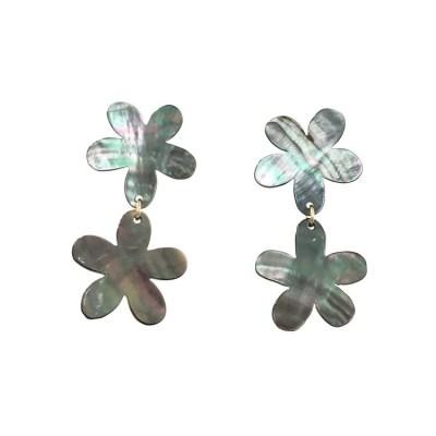 petit daisy earring GRAY