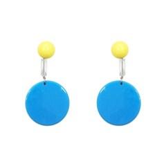 Summer vacance blue earring