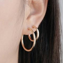 14k gf onetouch ring earrings (4size)(14k골드필드)