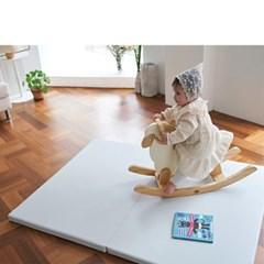 베딩베베 그레이 2단 140 X 110 유아 복도형 거실 아이방 폴더매트