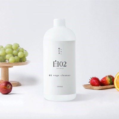 순백수 베지클리너 1L (과일야채소독세정수)