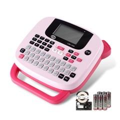 로드메일코리아 휴대용 라벨프린터 LMK-1000 핑크_(1392600)