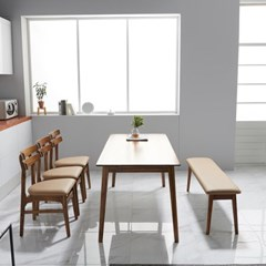 끄망메블루 플로레스타 6인 테이블