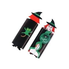 할로윈 초록스프 마녀 데코페이퍼 소 (10개)