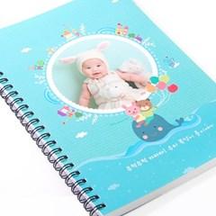 제이밀크 A5 링제본 이유식일지(아기식단표)-아기 고래의 꿈