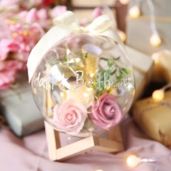 DIY 플라워 용돈 선물세트 (소) 장미