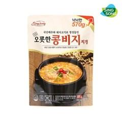 신송 오롯한 콩비지찌개 570g 5팩
