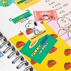 [Peanuts] 스누피 마켓_스티커 + 미니패턴지 set