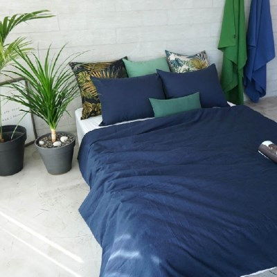 CASUAL LINEN BEDDING SET