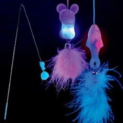 LED 낚시대 고양이장난감 고양이놀이용품