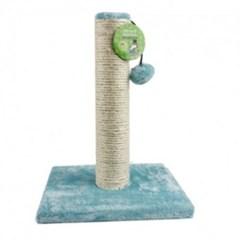 고양이 기둥 스크래처 스크레쳐 블루 방울 장난감