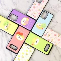 국내 캐릭터 프라이 정품 카드 슬라이더 케이스 - 아이폰