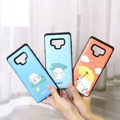 국내 캐릭터 마요 정품 카드 슬라이더 케이스 - 아이폰