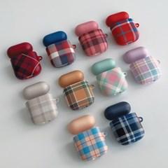 Check pattern series 디자인 에어팟 하드케이스