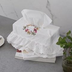 꽃자수 티슈커버 캉캉형 - 4type_(2988148)
