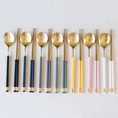KARA GOLD 숟가락,젓가락-7color