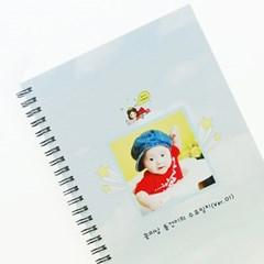 제이밀크 A5 링제본 이유식일지(아기식단표)-엄마는 원더우먼