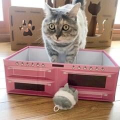 닥터심 고양이 스크래쳐박스 식빵박스 스크래쳐세트_(193333)