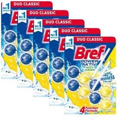 브레프 파워액티브 변기세정제 레몬 50g X 10개