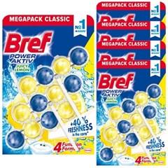 브레프 파워액티브 변기세정제 레몬 50g X 15개 (5팩)