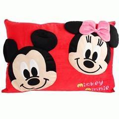 디즈니 정품 미키마우스 미니마우스 베개