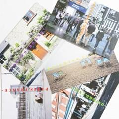 Europe postcard set