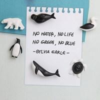 [친환경] 퀄리 Save Ocean Magnets 플라스틱 재활용 마그넷