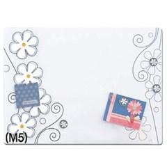 [카피어랜드] 메모보드 M5(584*432mm/꽃무늬화이트)_(12648077)