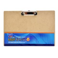 [알파] MDF 클립보드 가로형 A4_(12654287)