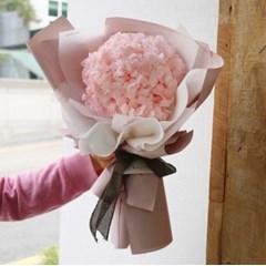프리저브드 플라워 수국 꽃다발 드라이플라워 수국