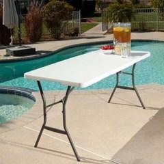라이프타임 접이식 테이블 T4534 야외 실내 테이블