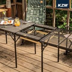 카즈미 유니온 아이언 BBQ 플레이트 K20T3U011 / 캠핑 테이블