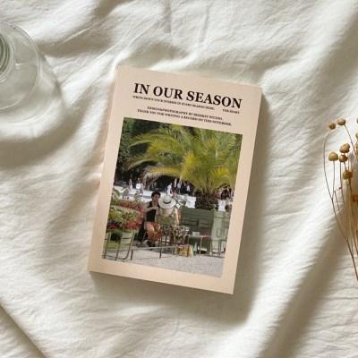 season notebook-summer garden (diary)