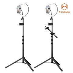 Mcdodo LED 링라이트 개인방송용 멀티 거치 삼각대