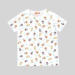 캐리 유아 아동 캐릭터 패턴 티셔츠_(2230089)