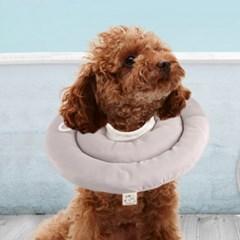 가벼운 강아지 넥카라 고양이 쿠션 애견 도넛 깔대기