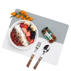 실리콘 테이블 매트 식탁 방수 식탁보 다이닝 4color