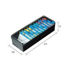 [카파맥스] 명함케이스 K94041 최대800매(W275*D105*H72_(12654644)